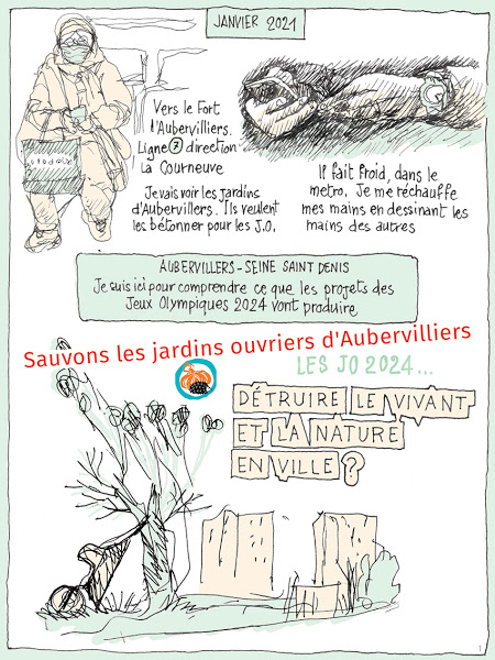 Sauvons les jardins ouvriers d'Aubervilliers