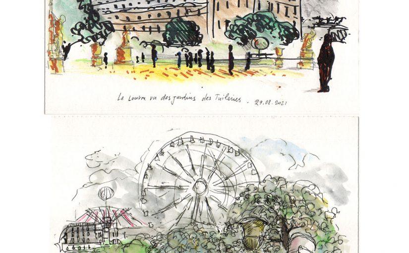 USK Parigi – Giardini delle Tuileries